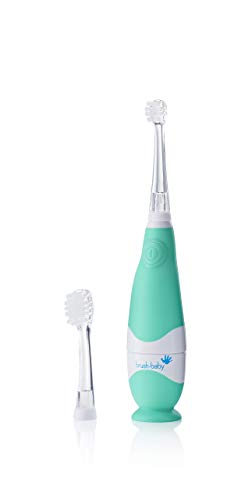Brush Baby BabySonic Infant and Toddler Electric Toothbrush for Ages 0-3...