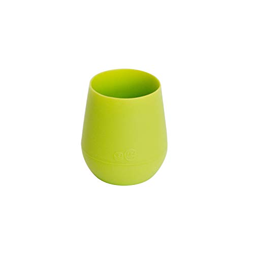 ezpz Tiny Cup (Lime) - 100% Silicone Training Cup for Infants - Designed by...