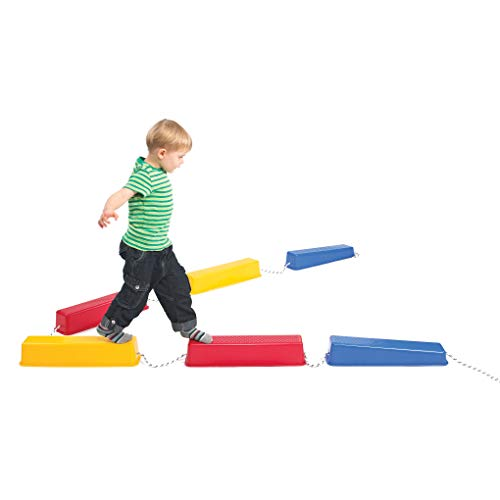 edx Education Step-a-Logs - Balance Beam for Kids - Indoor and Outdoor -...