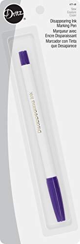 Dritz 677-60 Disappearing Ink Marking Pen, Purple