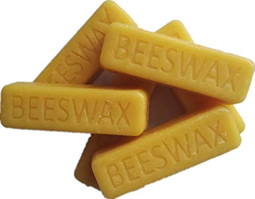 Beesworks (6) 1oz Yellow Beeswax Bars - Package of (6) 1oz Bars (6oz) -...