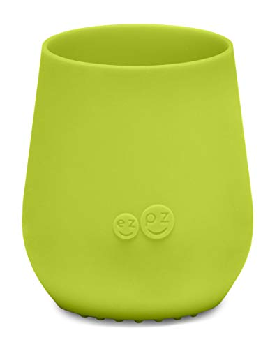 ezpz Tiny Cup - Silicone Infant Feeding Cup (Lime)