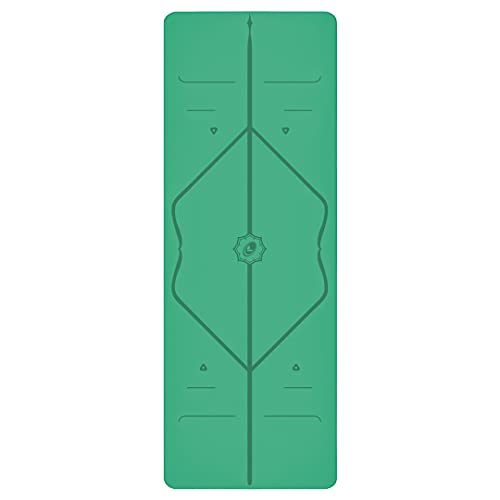 Liforme Original Yoga Mat – Patented Alignment System, Warrior-like Grip,...