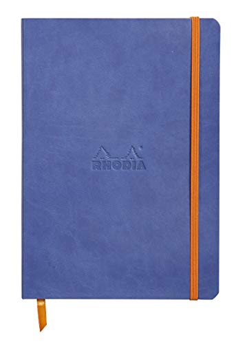 Rhodia Rhodiarama SoftCover Notebook - 80 Dots Sheets - 6 x 8 1/4 -...