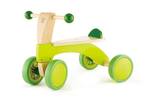 Hape Scoot Around Ride On Wood Bike | Award Winning Four Wheeled Wooden...