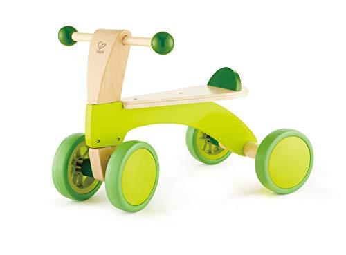 Hape Scoot Around Ride On Wood Bike | Award Winning Four Wheeled Wooden...