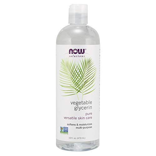 NOW Solutions, Vegetable Glycerin, 100% Pure, Versatile Skin Care,...