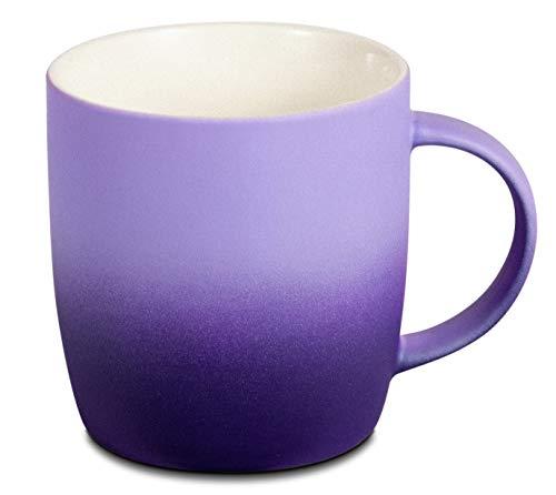 BEGONDIS Coffee Mug Ceramic Gradient Ombré Color Elegant Matte Tea Cup,...