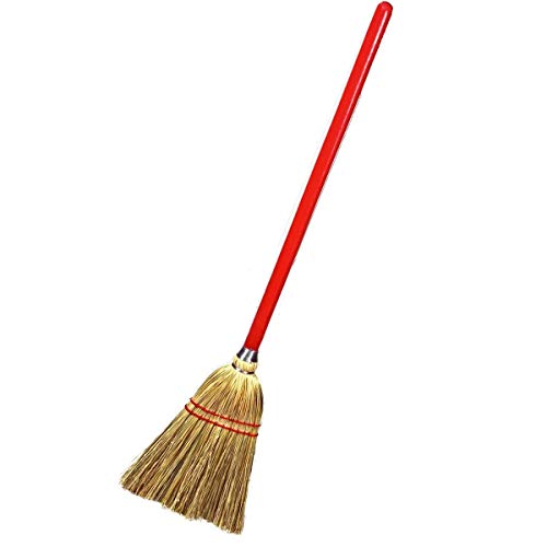 Rocky Mountain Goods Small Broom for Kids and Toddlers - Solid Wood Handle...