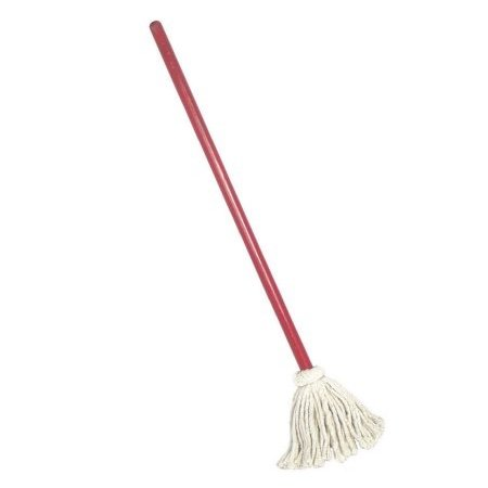 Rocky Mountain Goods Small Mop for Kids and toddlers - Traditional red and...