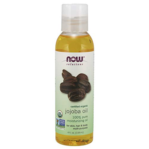 Now Solutions, Organic Jojoba Oil, Moisturizing Multi-Purpose Oil for Face,...