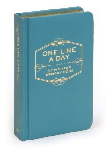 One Line A Day: A Five-Year Memory Book (5 Year Journal, Daily Journal,...