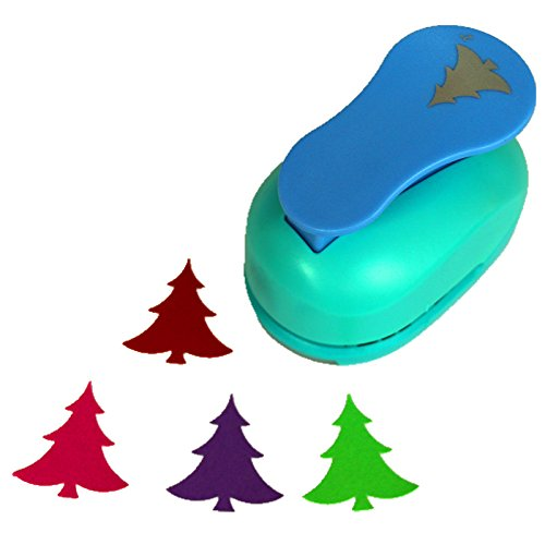 CADY 2-Inch Design Christmas Tree Paper Punch for Scrapbooking Craft DIY...