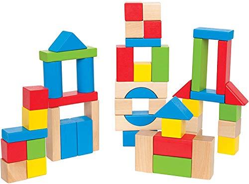 Maple Wood Kids Building Blocks by Hape | Stacking Wooden Block Educational...