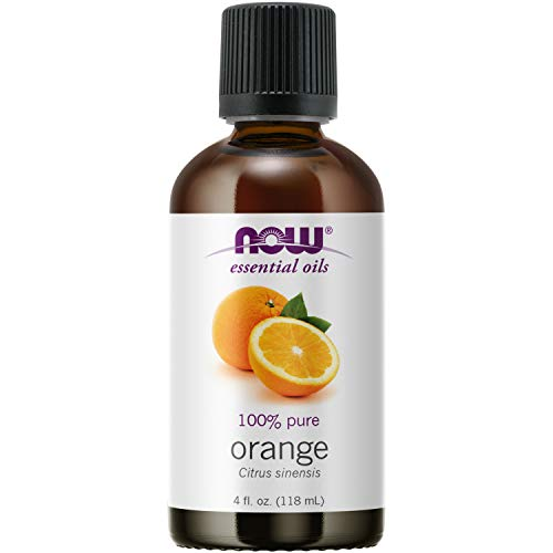 NOW Essential Oils, Orange Oil, Uplifting Aromatherapy Scent, Cold Pressed,...