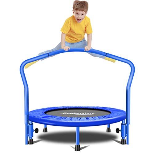 Gardenature Trampoline-36 Portable Trampoline for Kids-Blue