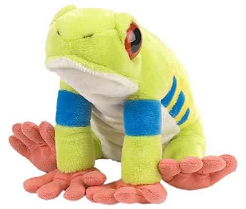 Wild Republic Red-Eyed Tree Frog Plush, Stuffed Animal, Plush Toy, Gifts...