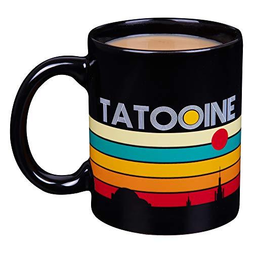 Star Wars Tatooine Ceramic Coffee Mug - Fun Retro Tatooine Design - 11 oz