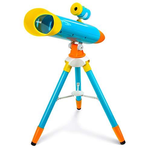 Little Experimenter Telescope for Kids – Children Telescope + Projector...