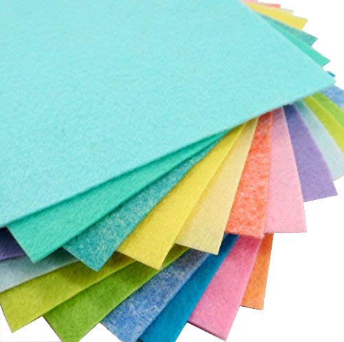 15 Easter 9'X12' Merino Wool Blend Felt Sheets Collection - OTR felt