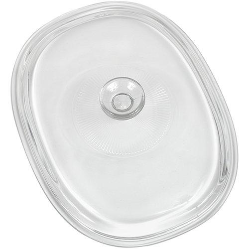 CorningWare French White 2-1/2-Quart Oval Glass Cover