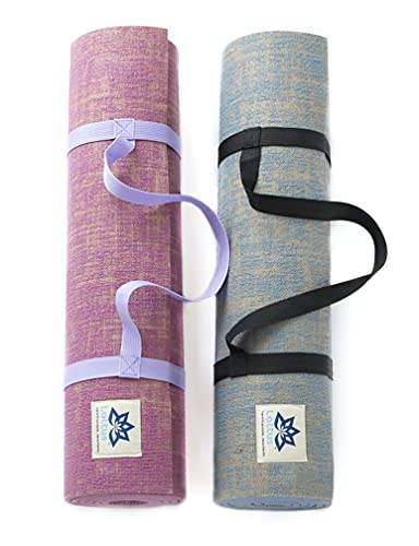 LOTTUS LIFE Natural Jute Yoga Mats [NEW & IMPROVED] - Large & Extra Thick...