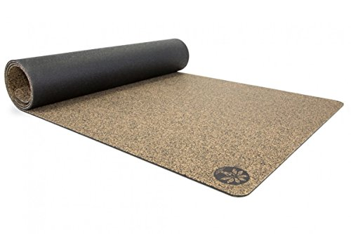 Yoloha Cork Yoga Mat Native Cork Yoga Mat - 72' x 26' - 5mm Thick - Non...