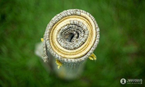 Vastra Ayurvedic Yoga Mat---Organic, Chemical-free, Handmade from Cotton &...