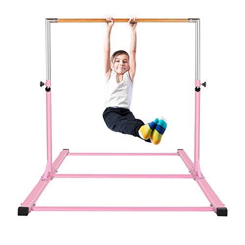 gymmatsdirect Gymnastics Junior Training Bar - 4.2ft Wide 5ft Long 36-59in...
