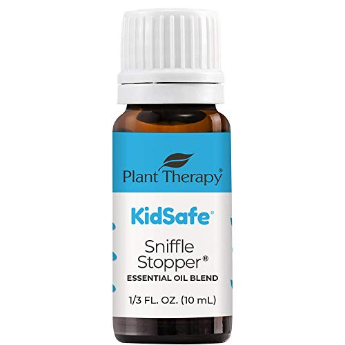 Plant Therapy KidSafe Sniffle Stopper Essential Oil Blend 10 mL (1/3 oz)...