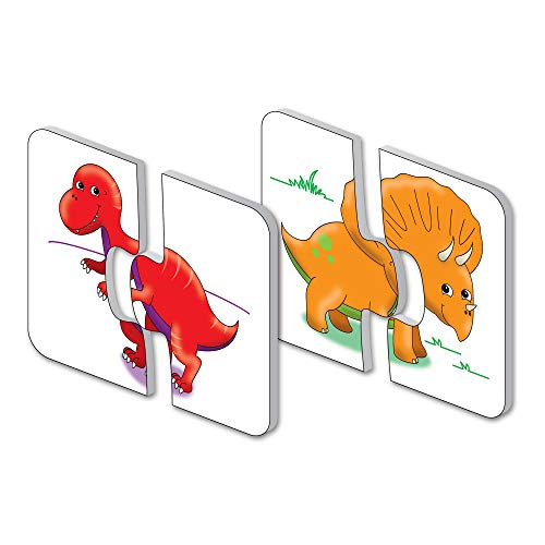 The Learning Journey: My First Match It - Dinosaurs - 15 Self-Correcting...