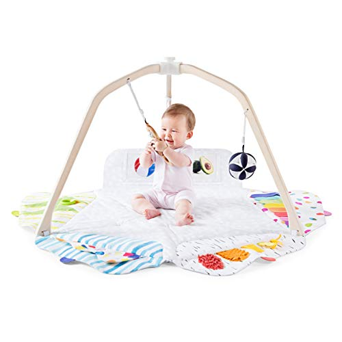 The Play Gym by Lovevery; Stage-Based Developmental Activity Gym & Play Mat...