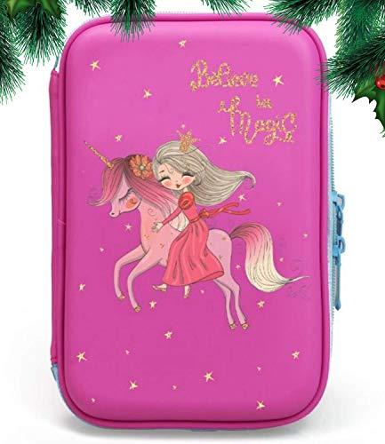 Unicorn Pencil Case for Girls | Cute Preschool, Kindergarten, and...