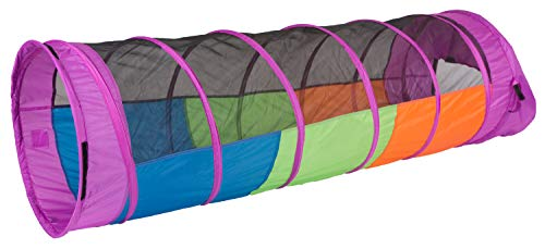 Pacific Play Tents Kids Peek-A-Boo I See You 6 Foot Crawl Tunnel -...