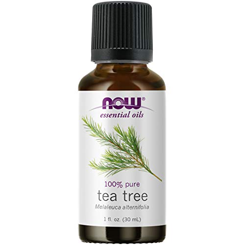 NOW Essential Oils, Tea Tree Oil, Cleansing Aromatherapy Scent, Steam...