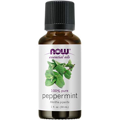 NOW Essential Oils, Peppermint Oil, Invigorating Aromatherapy Scent, Steam...