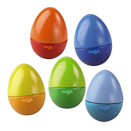 HABA Shakin Eggs - HABA Shakin Eggs - Feel the Rhythm While Learning Sound...