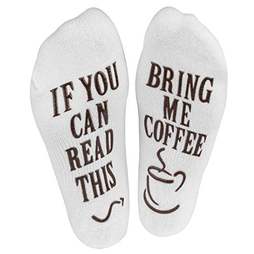 "Haute Soiree - Women's Novelty Socks - ""If You Can Read This, Bring Me..."