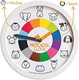 Preschool Clock - The Only Silent Clock a Toddler/Preschooler Understands -...