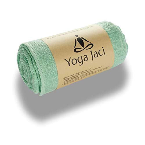 Yoga Hand Towel - Premium Microfiber Materials Edge Stitching - Durable and...