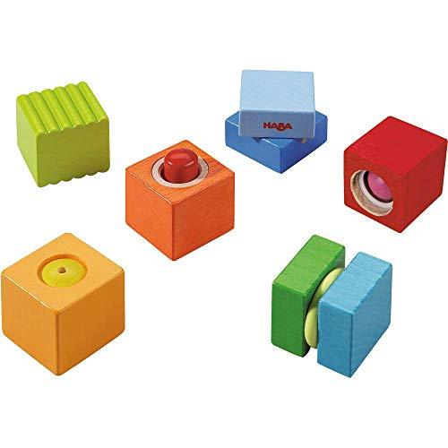 HABA Fun with Sounds Wooden Discovery Blocks with Acoustic Sounds (Made in...