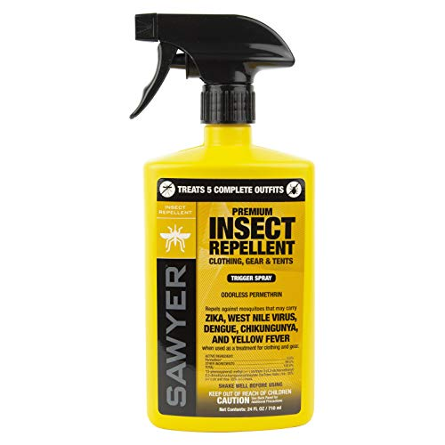 Sawyer Products SP657 Premium Permethrin Clothing Insect Repellent Trigger...