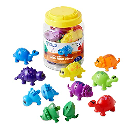 Learning Resources Snap-n-Learn Matching Dinos, Fine Motor, Counting &...