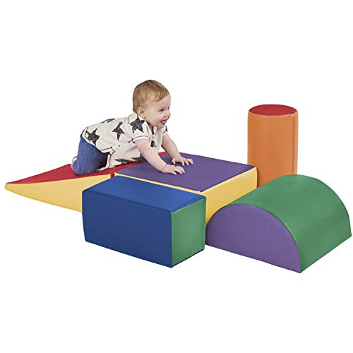 ECR4Kids - ELR-12683 SoftZone Climb and Crawl Activity Play Set,...