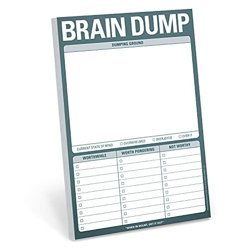 Knock Knock Brain Dump Knock Knock Pad