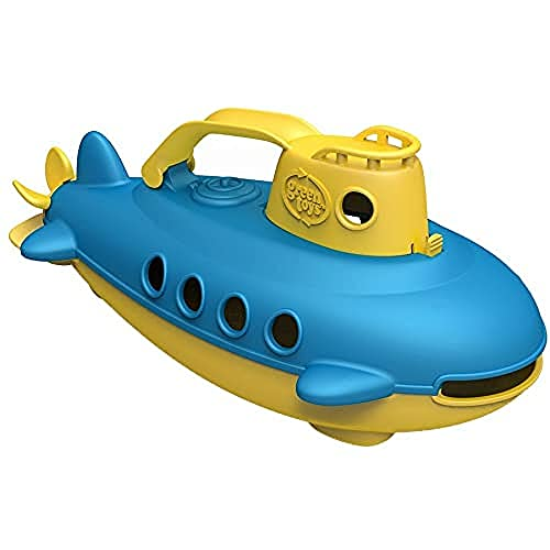 Green Toys Submarine in Yellow & blue - BPA Free, Phthalate Free, Bath Toy...