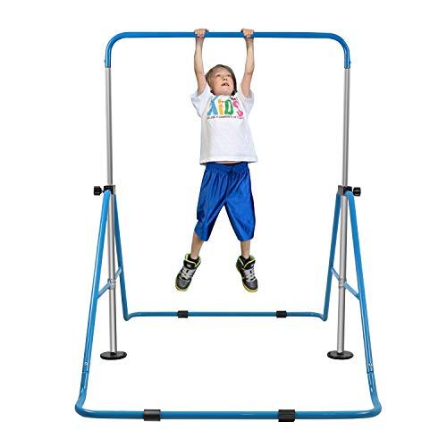 YEEGO Expandable Gymnastics Bar, Folding Horizontal Kip Bars Junior Premium...
