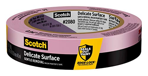 Scotch Delicate Surface Painter's Tape, .94 inches x 45 yards, 2080, 1 Roll
