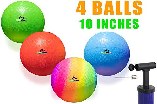 Playground Balls 10 inch Dodgeball - Kickball for Boys Girls Kids Adults -...