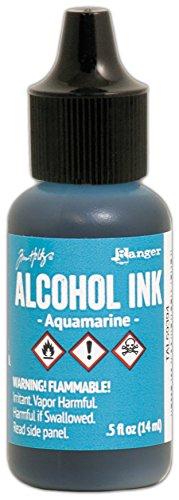 Ranger Aquamarine Tim Holtz Alcohol Ink .5oz, 5 Fl Oz